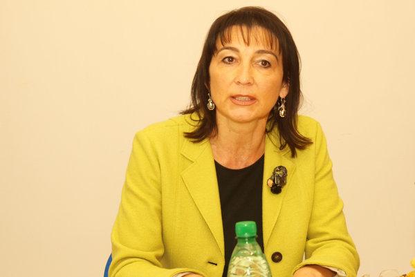 Pažinková ako predsedníčka Úradu pre dohľad nad zdravotnou starostlivosťou končí.