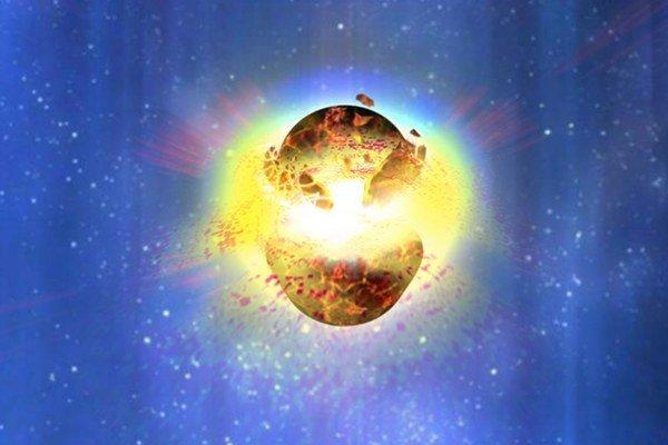 Kozmická zrážka zanechala stopy na Zemi.