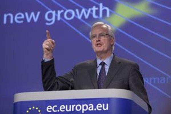 Člen Európskej komisie pre vnútorný trh a služby Michel Barnier.