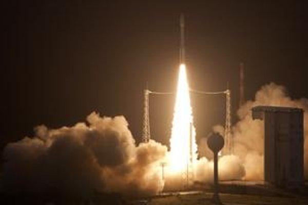 Úspešný štart nosnej rakety Vega.