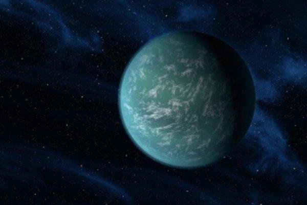 Umelecká predstava exoplanéty Kepler-22b
