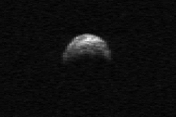Asteroid 2005 YU55.