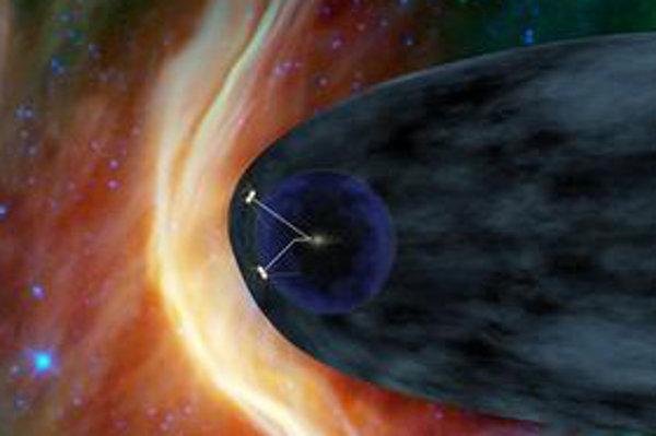 """Na úplnom konci Slnečnej sústavy leží magnetická """"pena"""". Zistila to americká sonda Voyager 1."""
