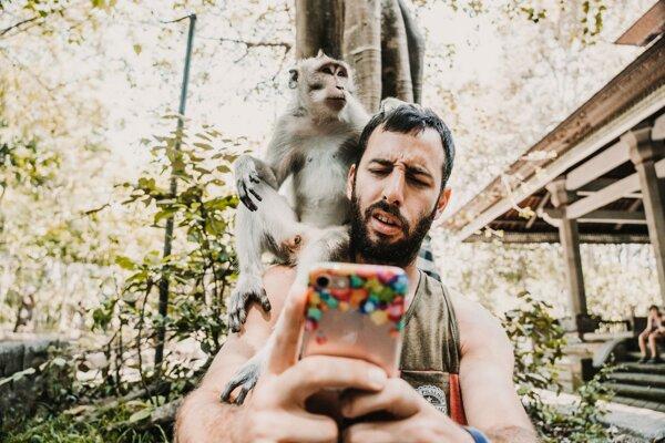 Ak si robíte selfie s divým zvieraťom, ubližujete mu.