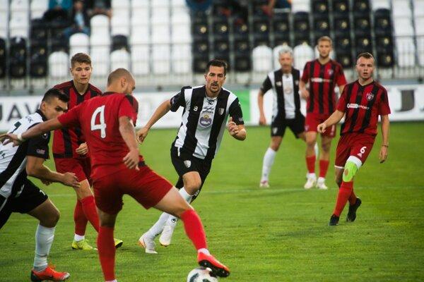 Zápas Spartak Myjava - FC Spartak Trnava B