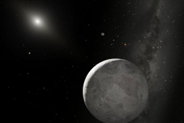 Eris je možno predsa menší ako bývalá planéta Pluto.