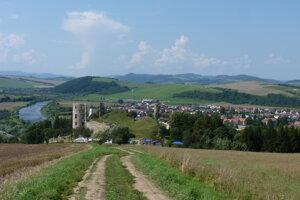 Na snímke je pohľad na obec Plaveč v Ľubovnianskom okrese.