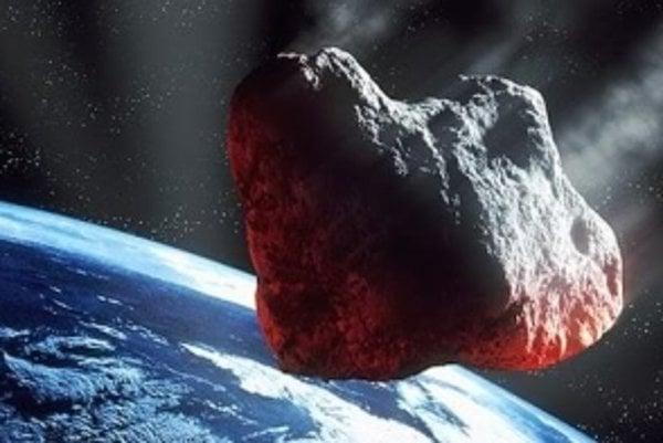 Asteroid 2010 TD54 by mohol trafiť Zem. Je však primalý na väčšie škody.