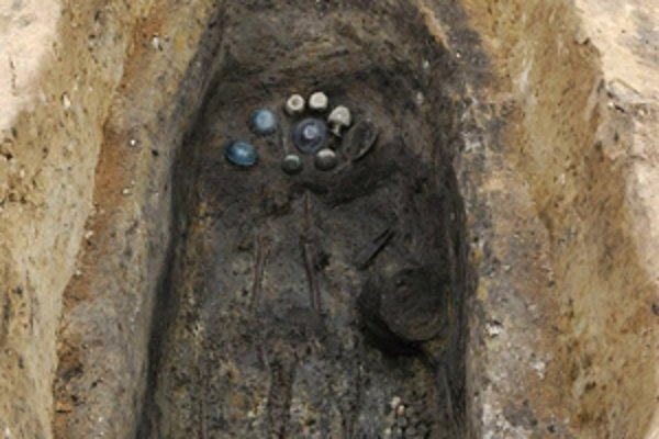 Unikátny hrob germánskeho náčelníka neďaleko od Bratislavy.