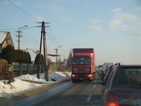 kamionisti v drazovciach