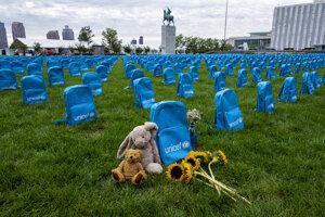 V zónach konfliktov bolo vlani zabitých alebo zmrzačených vyše 12-tisíc detí.