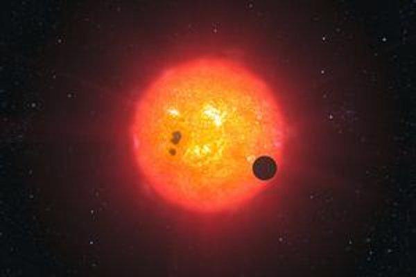 Exoplanéta GJ 1214b leží  asi 40 svetelných rokov ďaleko. Objavil ju projekt MEarth, sústava ôsmich amatérskych ďalekohľadov. Vedci zistili, že je najmä z vody.