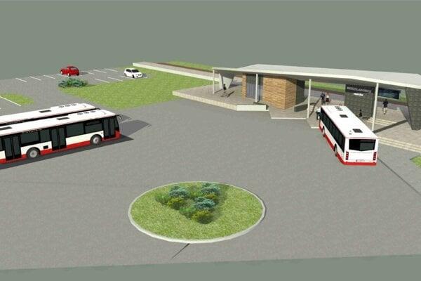 Ako bude vyzerať nová železničná a autobusová stanica v Medzilaborciach?