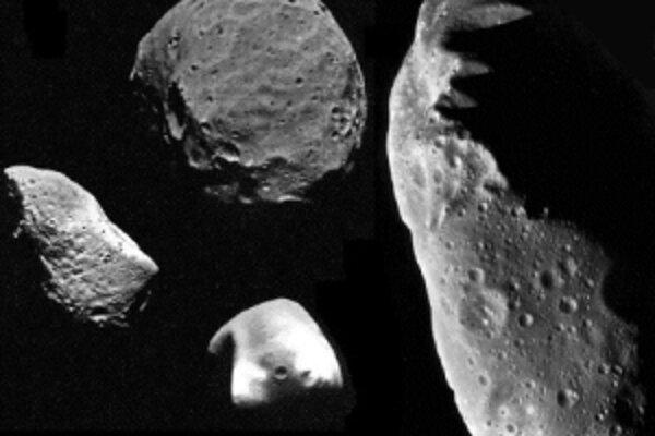 Aj na blízkych asteroidoch sa nachádza ľad.