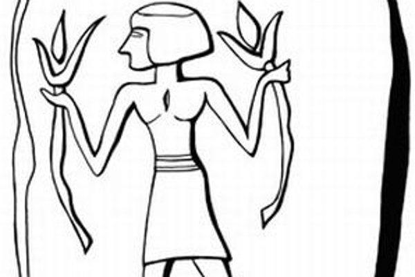 Kresba unikátnej plakety. Archeológovia i historici umenia sa zhodujú, že môže ísť o vyobrazenie záhadnej kanaánskej Pani levíc, jedinej ženy pri moci v tejto oblasti a v tom čase. Dosiaľ bola známa iba z dvoch tabuliek, ktorými písomne žiadala o pomoc a
