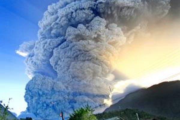Výbuch sopky Chaitén z minulého roka.