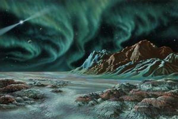 Vízia, ako by to mohlo vyzerať na planéte podobnej Zemi.