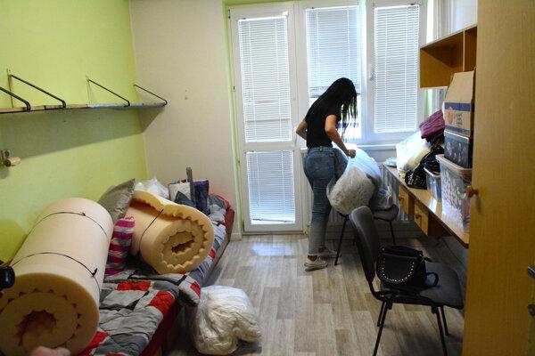 Študentom začína školský rok v pondelok, väčšina je už nasťahovaná vo svojich izbách.