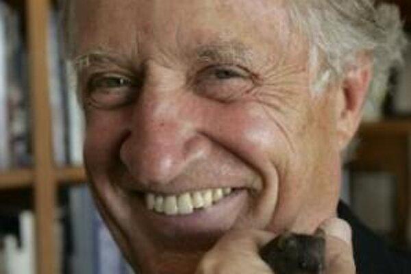 70-ročný Mario Capecchi, čerstvý držiteľ Nobelovej ceny.