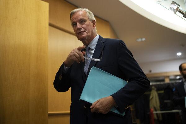 Hlavný vyjednávač Európskej únie pre brexit Michel Barnier.