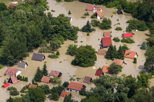 Klimatická zmena vplýva na veľkosť povodní.