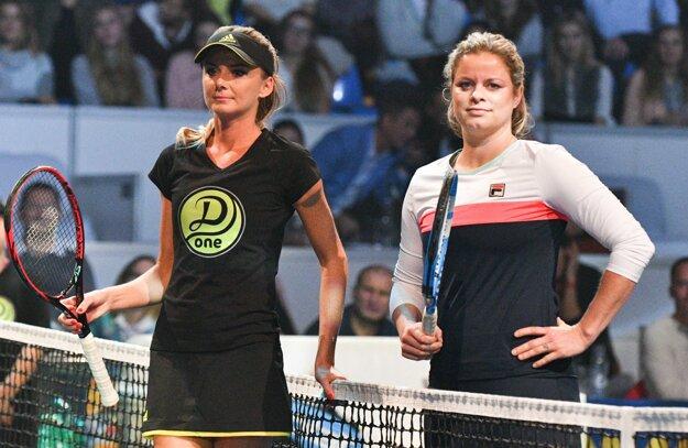 V novembri 2017 odohrala Kim Clijstersová exhibičný zápas proti Daniele Hantuchová, ktorá sa tak rozlúčila s kariérou.