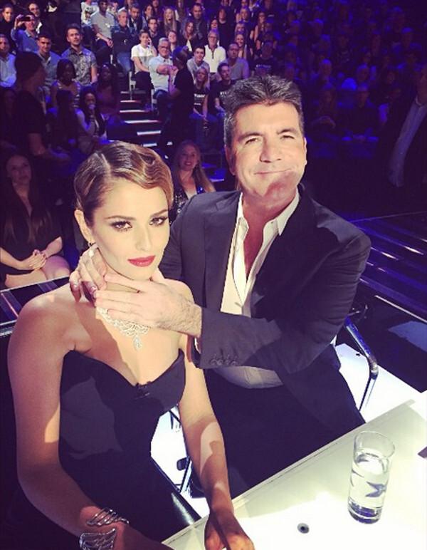 Cheryl ako porotkyňa v X Factor
