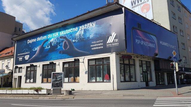 Budova Astórie v Bratislave.