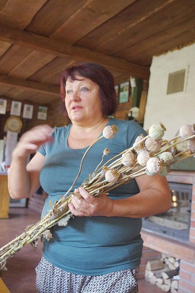 Oľga Apoleníková sa vrátila k pestovaniu maku.