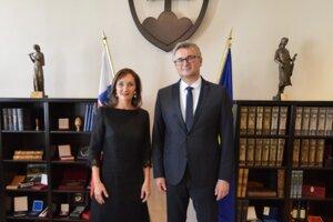 S predsedom ÚS SR I. Fiačanom.