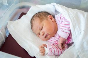 Lea Gabrišová (4080 g, 52 cm) sa narodila 9.septembra Gabike a Dušovi z Dubnice nad Váhom.