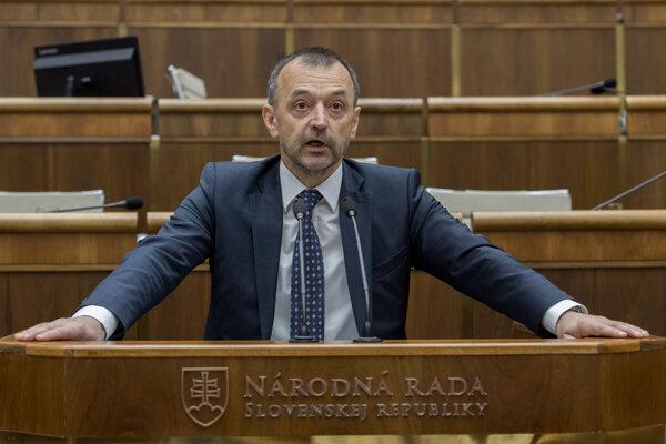 Poslanec Miroslav Ivan (SaS)