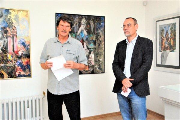 Miroslav Bartoš (vľavo)a Marián Krnáč.
