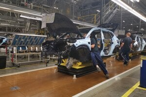 Výrobný závod Hyundai, Nošovice - výrobná linka