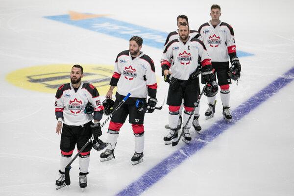 Hokejisti Bratislava Capitals.