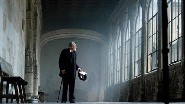 Miguel de Unamuno vo filme Kým trvá vojna.