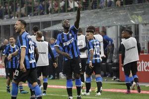 Romelu Lukaku v drese Interu Miláno.