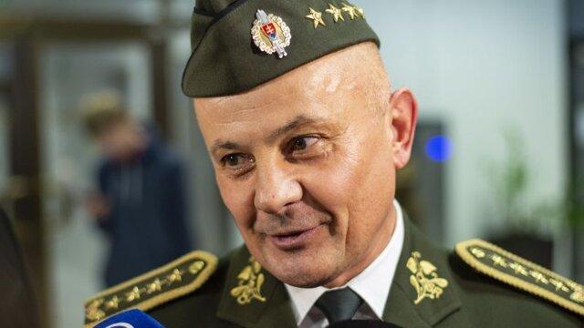 Riaditeľ Vojenského spravodajstva ministerstva obrany SR gen. Ján Balciar.