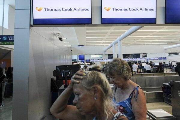 Letisko v mexickom Cancúne.