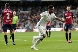 Rodrygo z Realu Madrid.