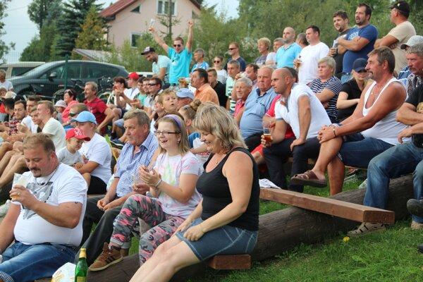 Oravská Polhora potešila fanúšikov hlavne v druhom polčase (archívna fotka).
