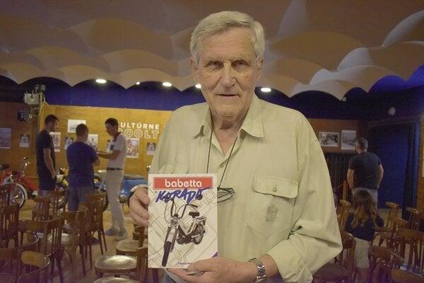 Autor knihy o motocykli Babetta Korado Zdeno Metzker starší.