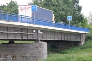 Most medzi Holíčom a Hodonínom
