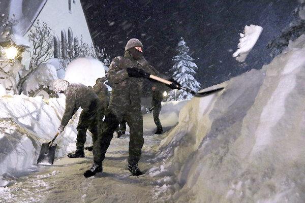 Na Orave musela v januári zasahovať aj armáda.