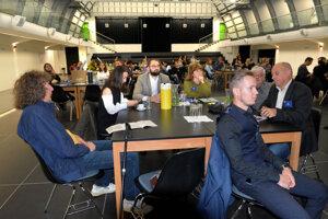 V Kunsthalle sa celý deň diskutovalo o kultúrnej stratégii mesta.
