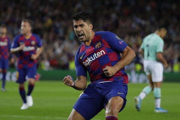Luis Suarez strelil proti Interu dva góly.