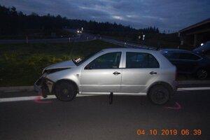 Pri dopravnej nehode asistoval alkohol.