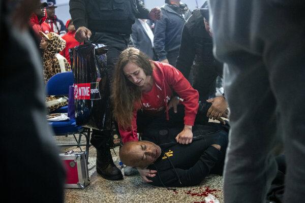 Ali Bashir skončil po útoku v bezvedomí.