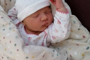 Soňa Smatanová (3590 g, 52 cm) sa narodila 25. septembra Denise a Tomšovi z Pruského-Savčiny.