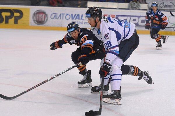 Zo zápasu HK Poprad - HC Košice.